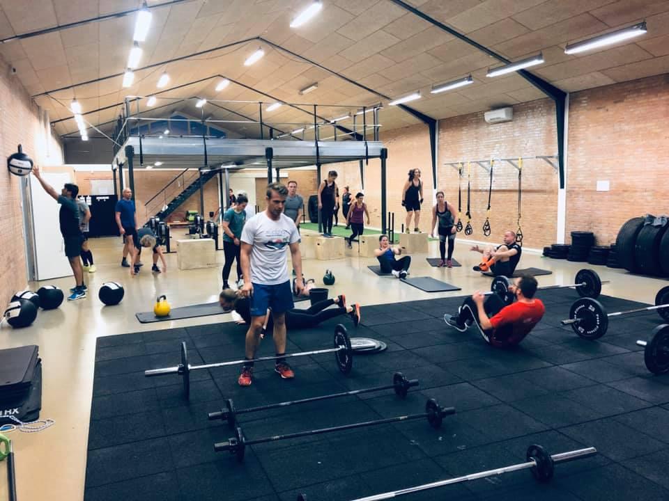 Træning i Hadsten hos CrossBox